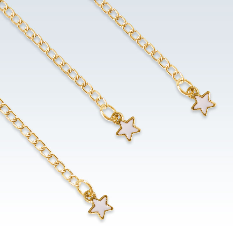 Star Heart Extension Chain Detail