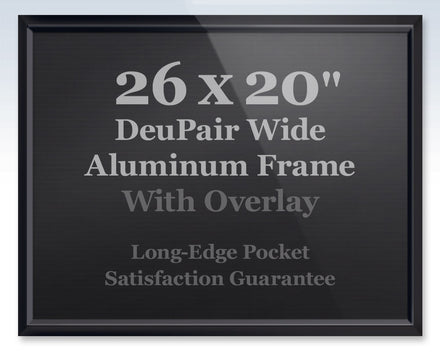 wide deupair pocket frame