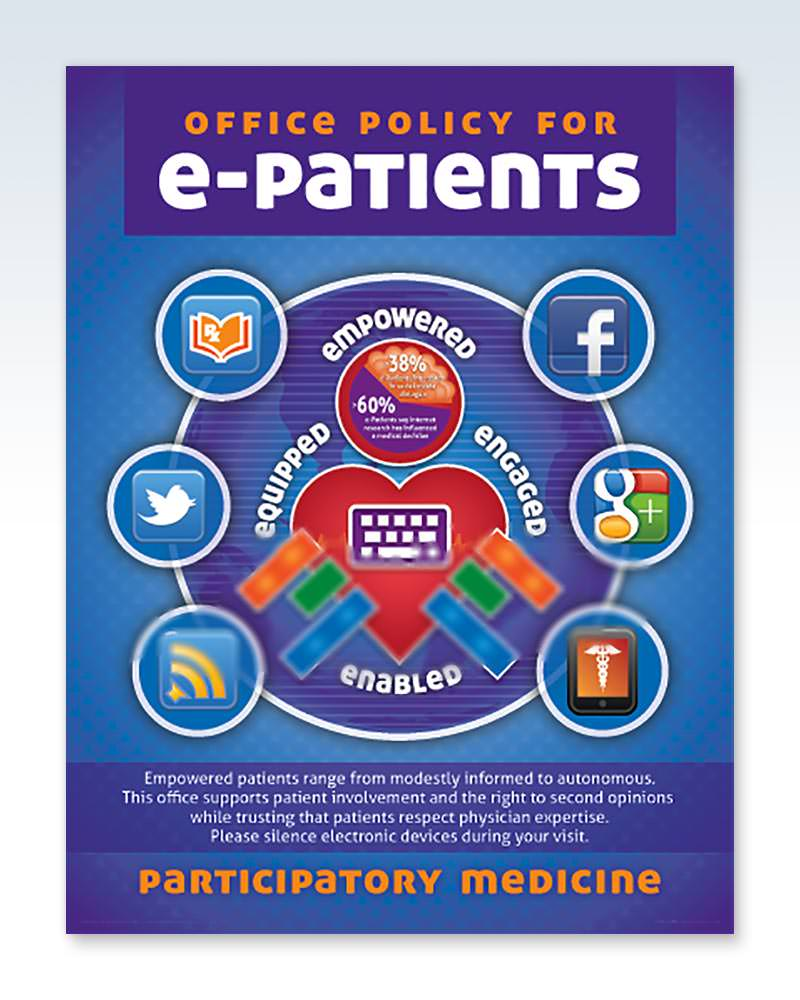 e-Patient Policy Laminated Chart 20x26