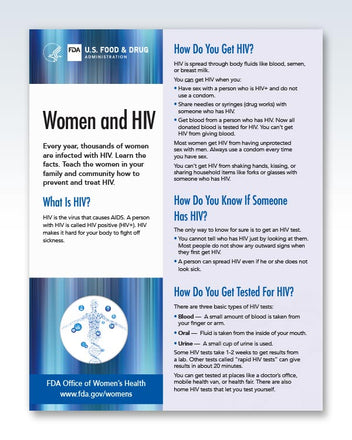 Women and HIV Page 1