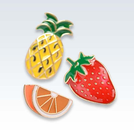 Citrus Fruit Set Lapel Pins
