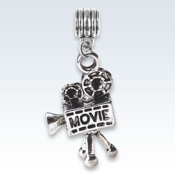 Movie Antique Metal Charm