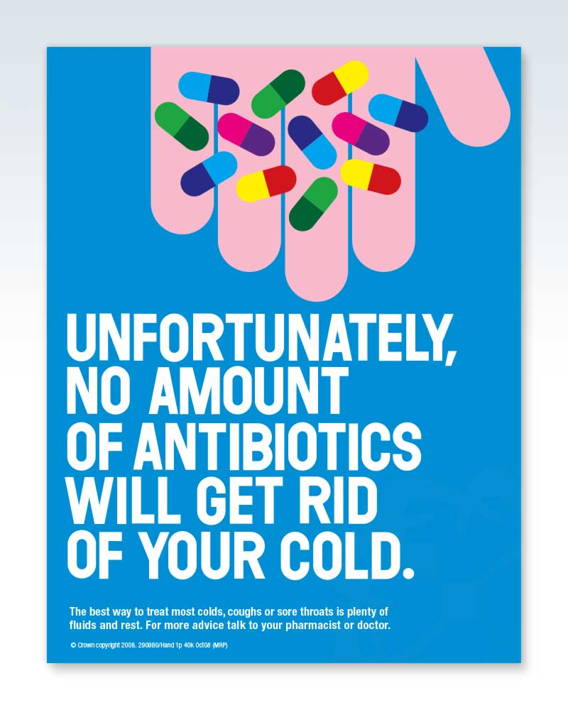 No Amount of Antibiotics Laminated Poster