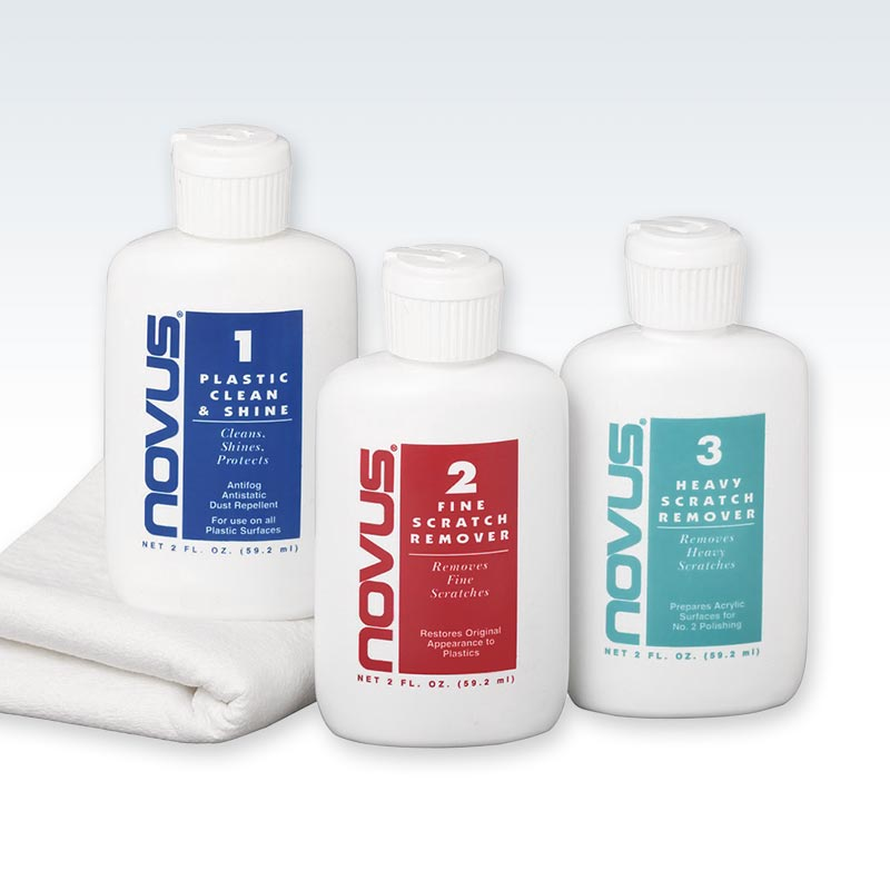 Novus Plastic Polish Kit