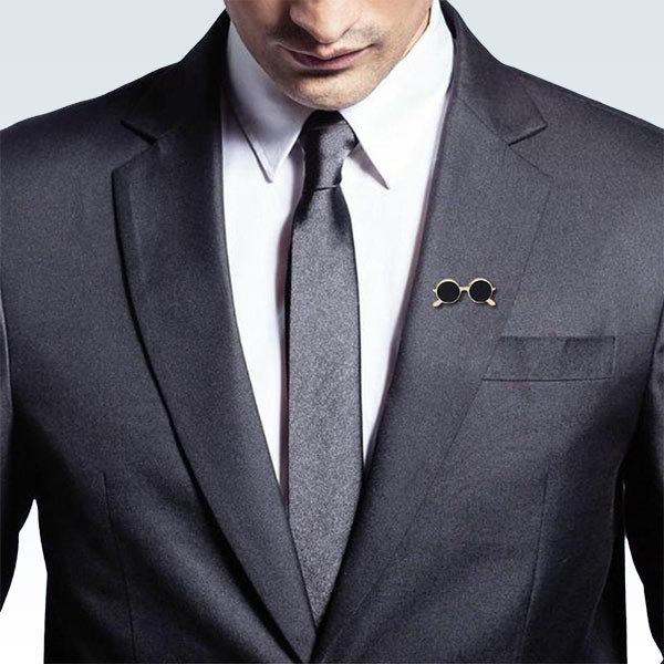 Sunglasses Pin on Lapel