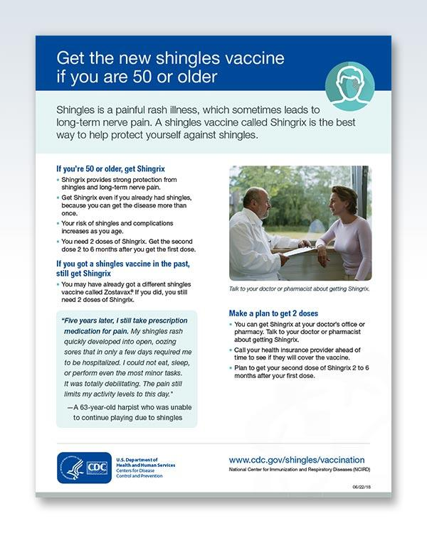 Get The New Shingles Vaccine Page 1