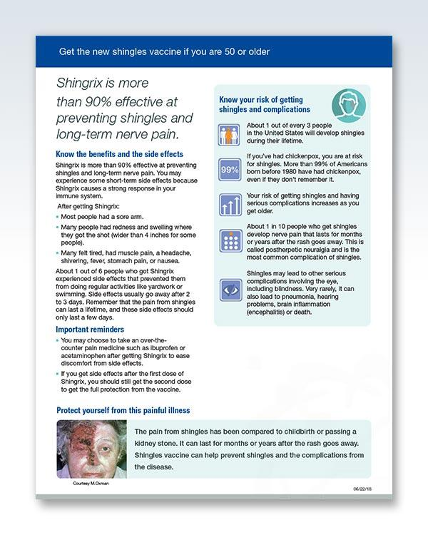 Get The New Shingles Vaccine Page 2