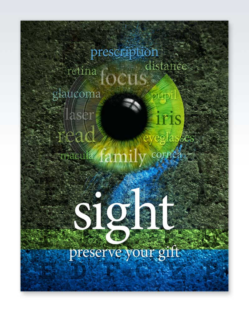 Green Sight - Preserve Your Gift Poster