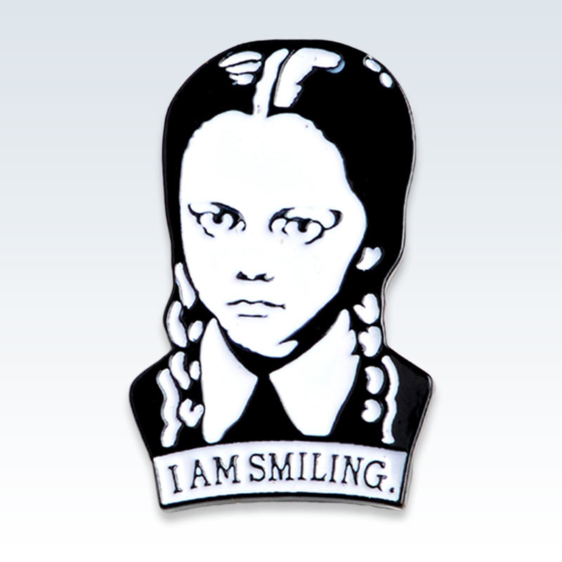I Am Smiling Lapel Pin