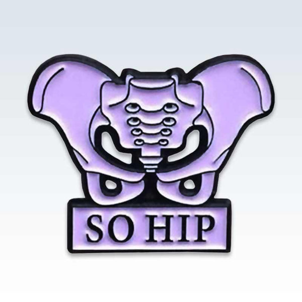 Lavender So Hip Lapel Pin