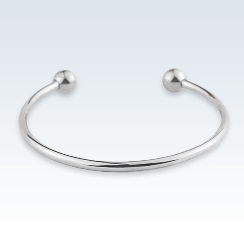 Stainless Steel Cuff Bracelet Front