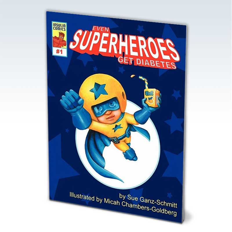 Even Superheroes Get Diabetes book cover