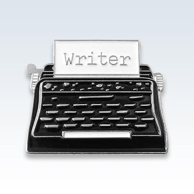 Writer Lapel Pin