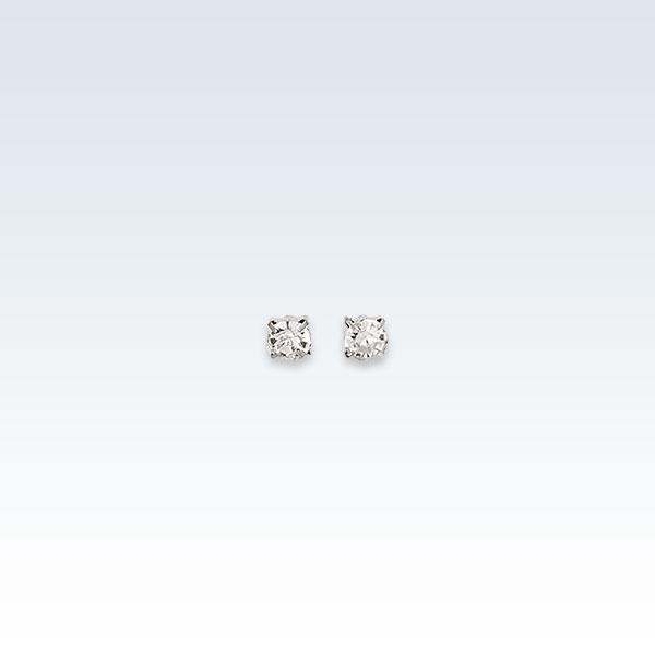 0.4mm Zirconia Earring Studs