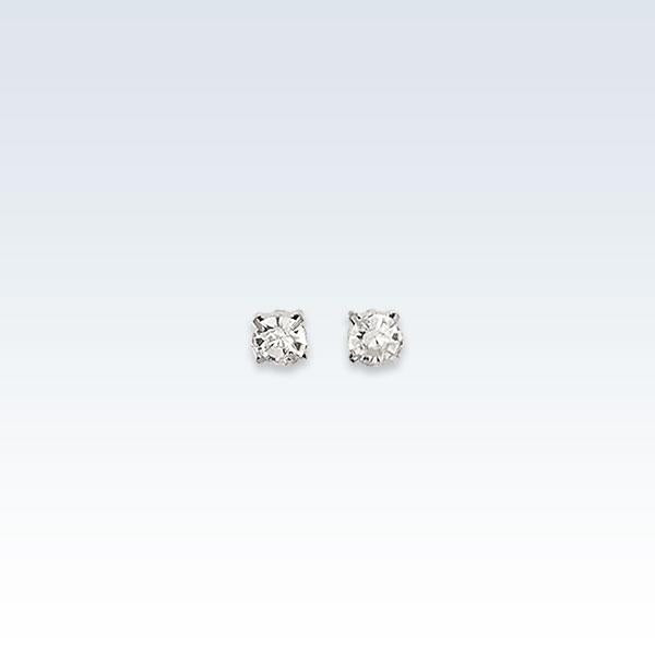 0.5mm Zirconia Earring Studs
