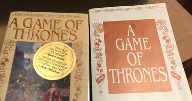 Auction: Signed A Game of Thrones ARC
