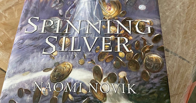 Spinning Silver Arrives! And Megan Lindholm Photos!