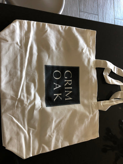 Grim Oak Cotton Tote Bag