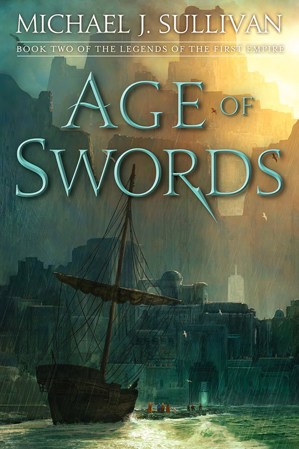 Age Of Swords Signed Trade Hardcover