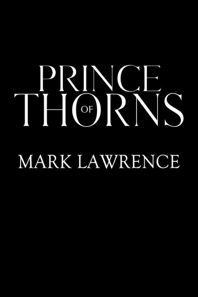 Prince of Thorns Lettered Edition