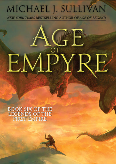 Age of Empyre Signed Trade Hardcover