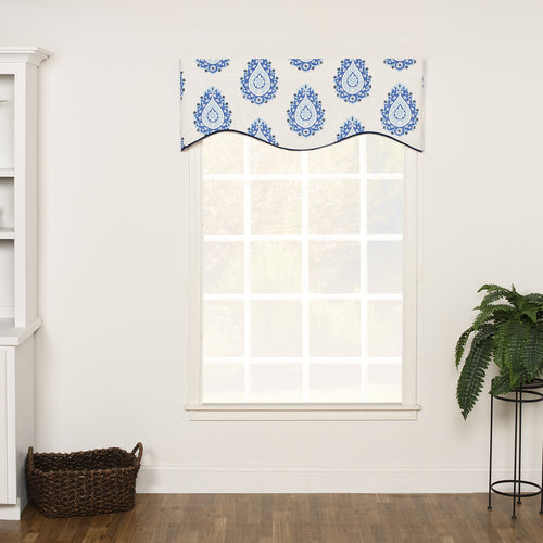 Alcott Drapery Valance Shaped
