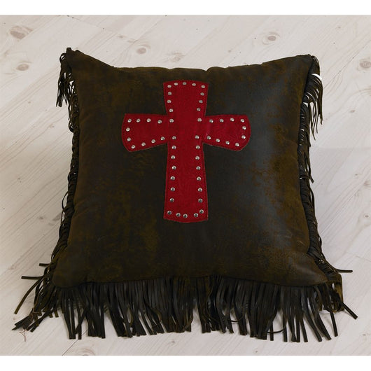 Cheyenne Red Decorative Pillow