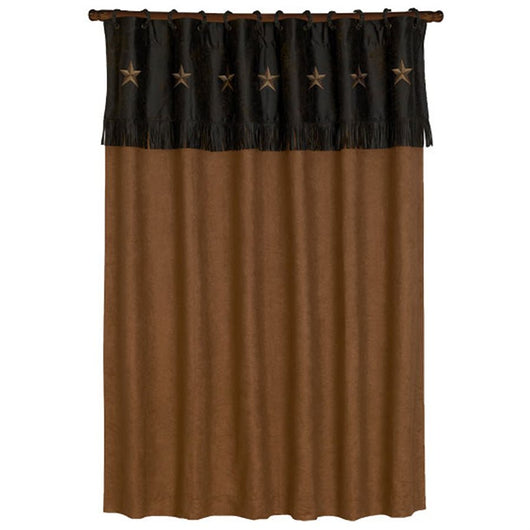 Laredo Chocolate Shower Curtain