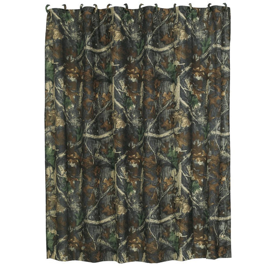 Oak Camo Shower Curtain