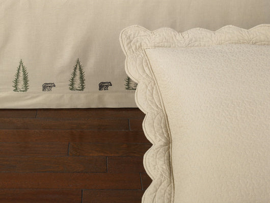 Bear Creek Bedskirt