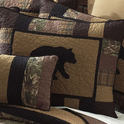 Camo Bear Pillow Sham