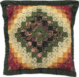 Spice Postage Stamp Decorative Pillow