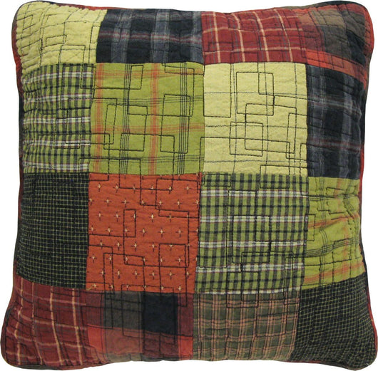 Woodland Square Decorative Pillow
