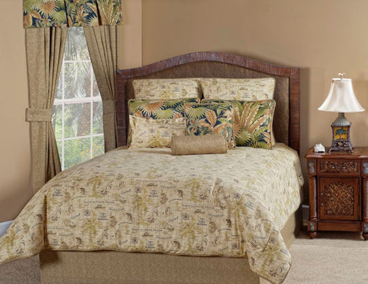 Island Song Coal Comforter Set