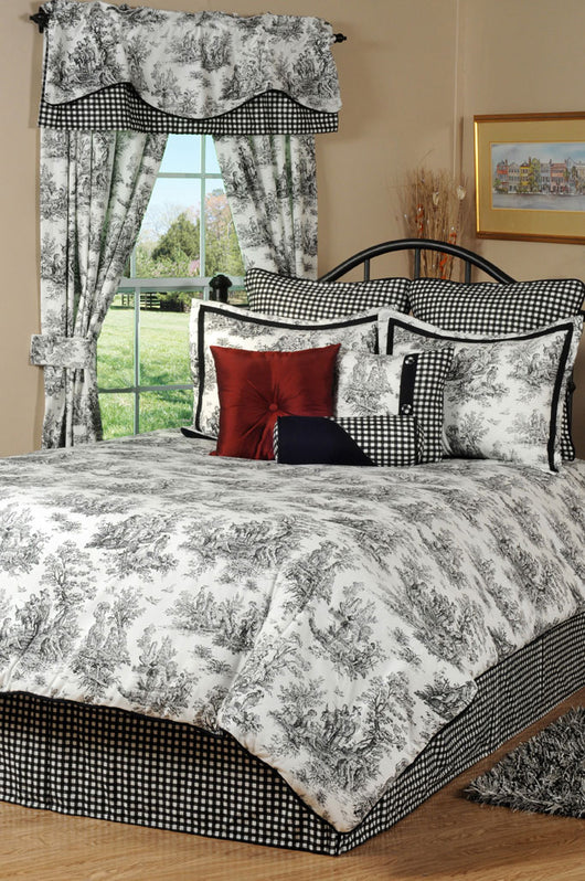 Jamestown Toile Pillow Sham