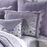 Lavender Rose Pillow Sham