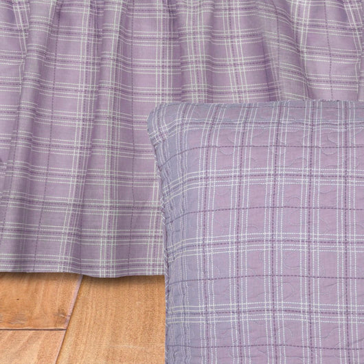 Lavender Rose Bed Skirt