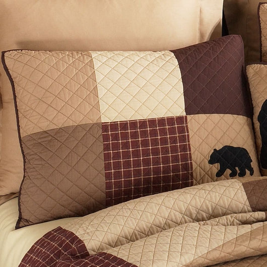 Logan Bear Pillow Sham