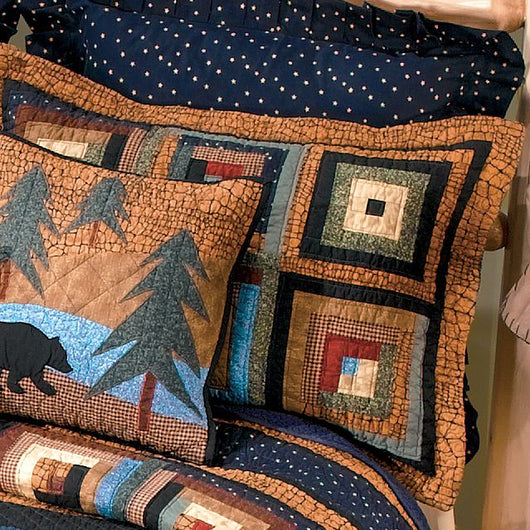 Midnight Bear Pillow Sham