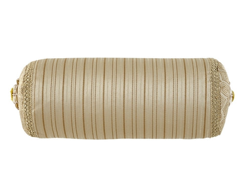 Anya Pale Gold by Waterford Decorative Pillow
