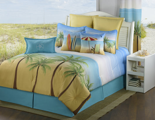 Palm Coast Comforter Set