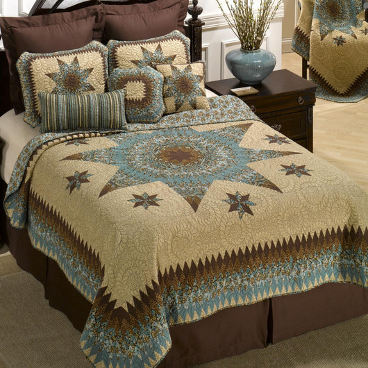 Sea Breeze Star Quilt