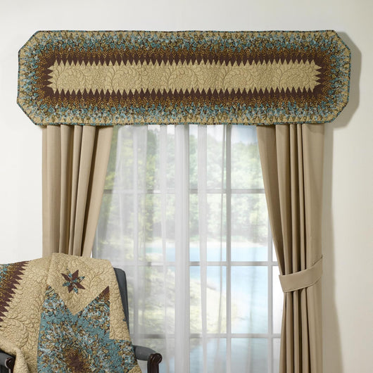 Sea Breeze Star Valance/Runner