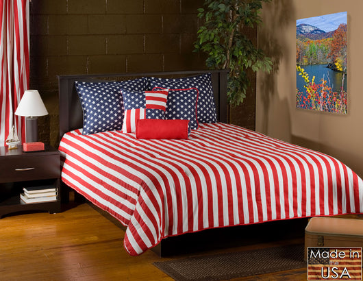 Stars & Stripes Duvet Cover Set