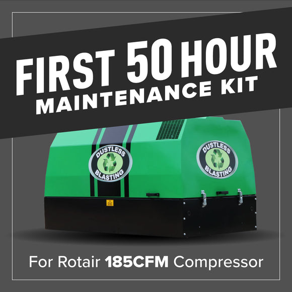 First 50 Hour Compressor Maintenance Kit - 185CFM - 84406/001