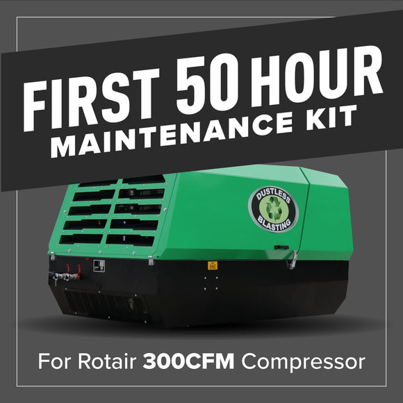 First 50 Hour Compressor Maintenance Kit - 300CFM - 84407/001