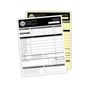 Automotive Quote Forms