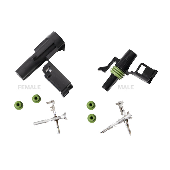 Weather Pack Electrical Connectors - 84401/001
