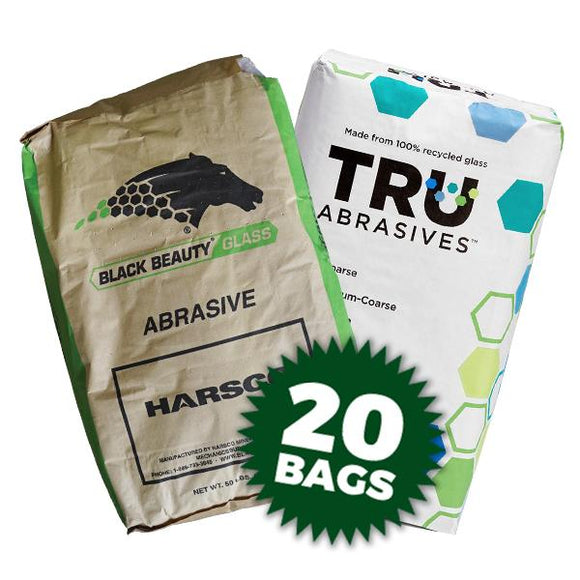 40/70 Recycled Glass Media (50 lbs per bag) - 20 Bags