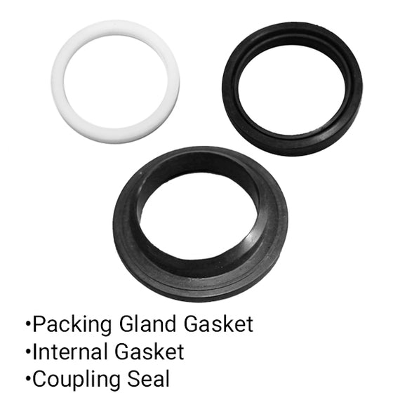 Packing Gland Gaskets and Coupling Seal Kit - 131226/kit